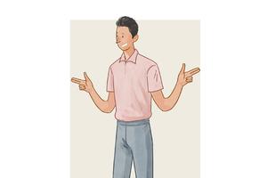 每日穿搭|职场新性感 粉polo与灰西裤