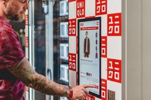 优衣库将启用自动贩卖机销售服装