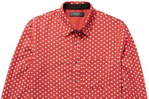 波点设计衬衫 密集恐惧症快来看啊