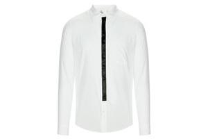 有了这件衬衫出门再也不用系领带了
