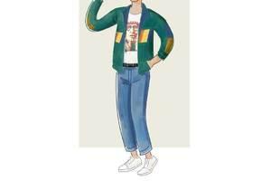 每日穿搭|80年代的青年怎么穿?