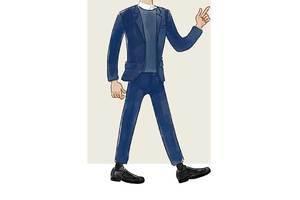 每日穿搭|毛衣西装布洛克,传统又时髦