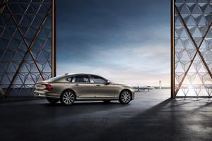全感设计定义北欧人文豪华新高度 沃尔沃S90 Ambience概念车全球首秀