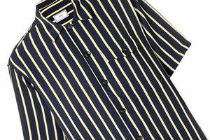 燥热的夏季懒得搭配,一件条纹衫就能搞定