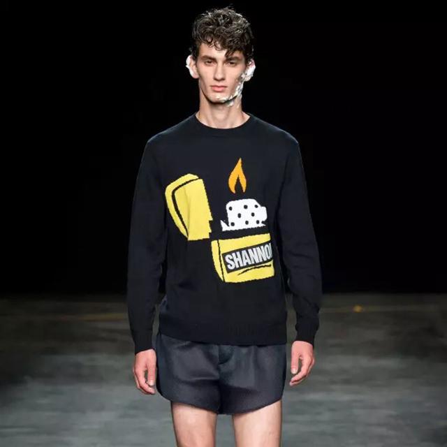 2016春夏伦敦男装周,满眼躁动青春大秀…和肉