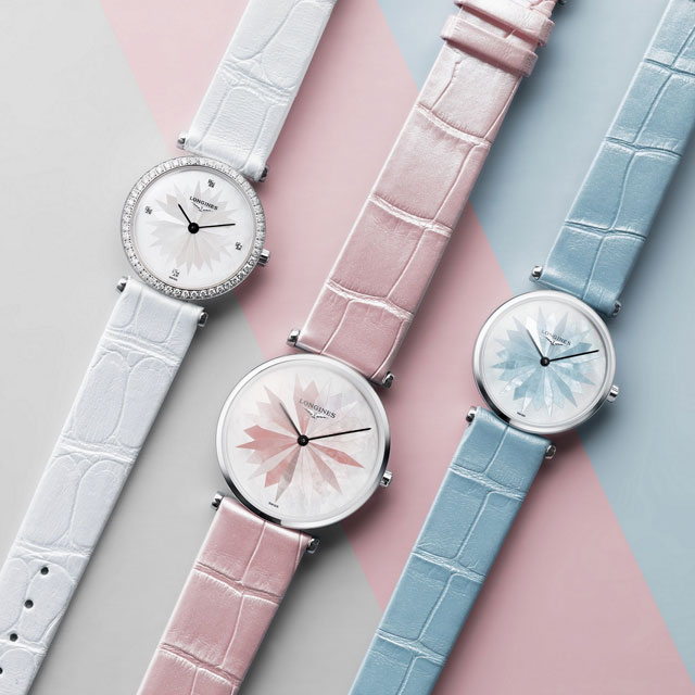 浪琴 优雅之美的新款腕表