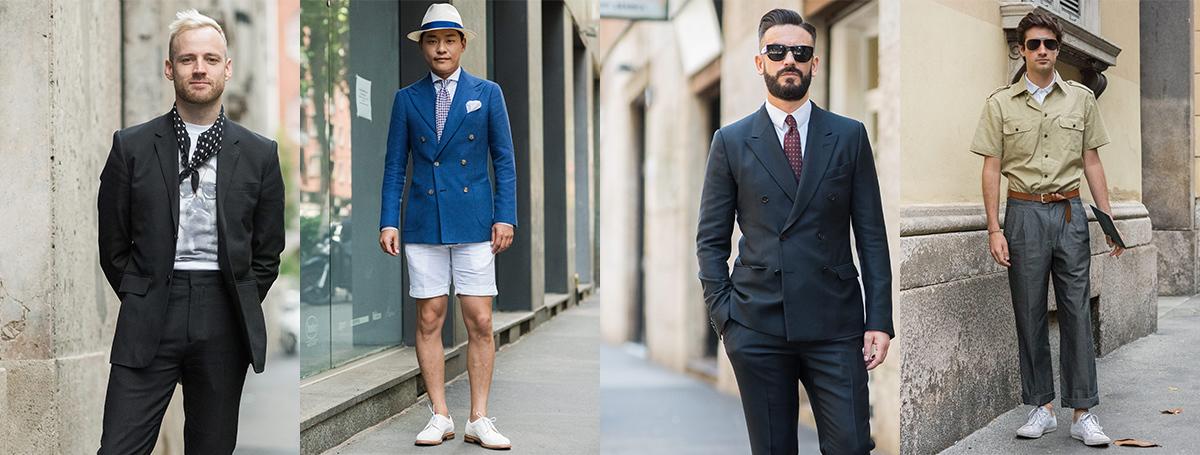 米兰男装周街拍 看看时装编辑买手都穿什么