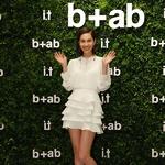 b+ab北京三里屯太古里店全升级,时尚偶像水原希子亲临祝贺