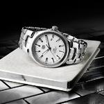 TAG Heuer泰格豪雅 推出Link 林肯系列Calibre 5精钢男士腕表
