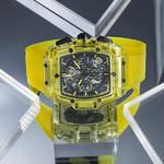 HUBLOT宇舶表全新Big Bang靈魂系列黃色藍寶石腕表  太陽般的光輝在腕間閃耀