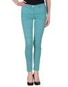 蓝绿色 CLASS ROBERTO CAVALLI 裤装