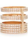 Berbère 18K 玫瑰金钻石戒指