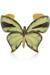 搪瓷金色蝴蝶造型手镯