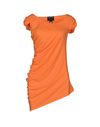 橙色 CLASS ROBERTO CAVALLI T-shirt