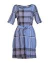 石青色 BURBERRY BRIT 短款连衣裙