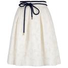 Carolina Herrera 白色镂空半身裙