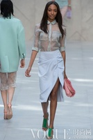 2014春夏款式趋势:新式性感衬衫