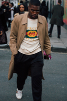 男装周街拍,这些男人不仅帅还会穿