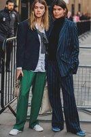 伦敦时装周街拍合集