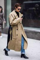 不过时的时髦公式:小黑靴 牛仔裤