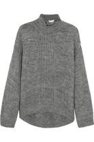 大廓形针织毛衣