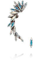 施华洛世奇水晶镀银耳骨夹