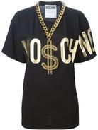 MOSCHINO dollar chain T-shirt