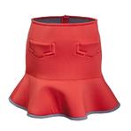 DAZZLE红色半身裙