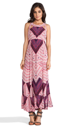 Free People You Made My Day Printed Dress in Pink