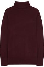 针织高领毛衣