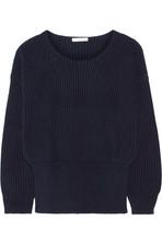 罗纹羊绒毛衣
