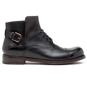 Dolce&Gabbana杜嘉班纳黑色帅气短靴
