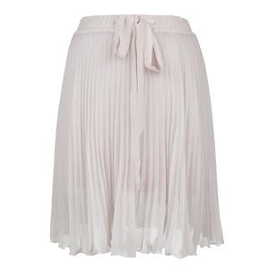 Calvin Klein Jeans 2013年白色百褶短裙