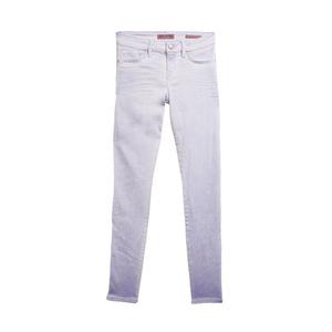 GUESS盖尔斯白色做旧效果牛仔裤