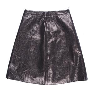 Hugo Boss银色短裙