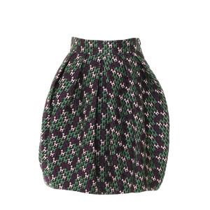 M Missoni米索尼preppy系列小狗图案针织荷包裙