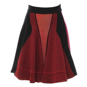 M Missoni米索尼几何形图案拼接针织半身裙