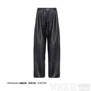 潇洒阔腿裤 重塑冬日优雅线条