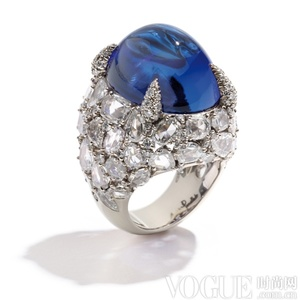 沁凉清爽 夏日珠宝的蓝色风潮