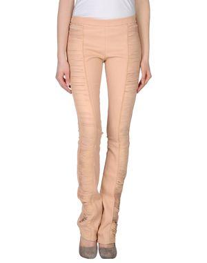 粉红色 ROBERTO CAVALLI 皮裤