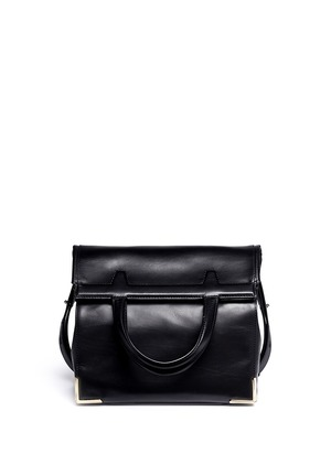 Prisma leather two-way lunch bag