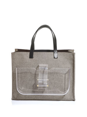 Simply Shopping canvas tote