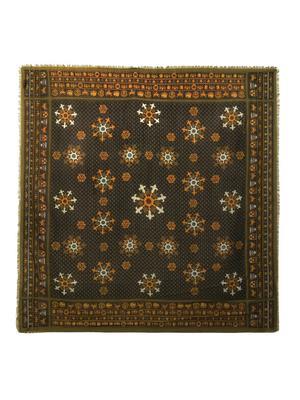 Cheich printed wool-blend scarf