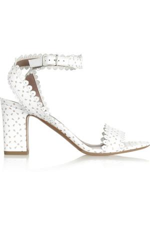 Leticia 镂空皮革凉鞋