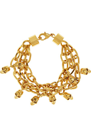 施华洛世奇水晶金色手链
