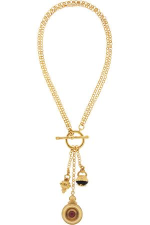 吊饰镀金项链
