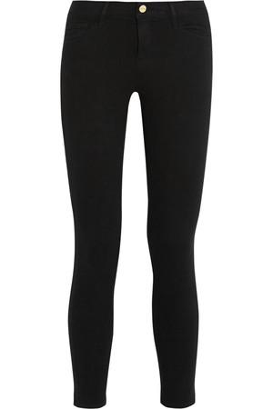 Le Skinny de Jeanne Crop 中腰牛仔裤