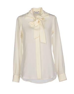象牙白 MOSCHINO Shirt