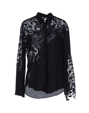 黑色 VERSACE 长袖衬衫