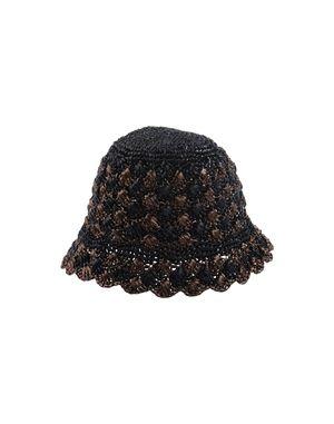 黑色 PRADA 帽子